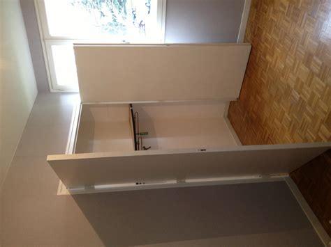 remplacer une porte battante par porte coulissante pour un placard
