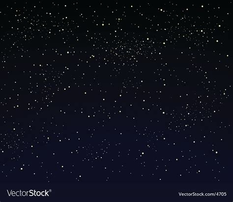 Starry Sky Image by Starry Sky Royalty Free Vector Image Vectorstock