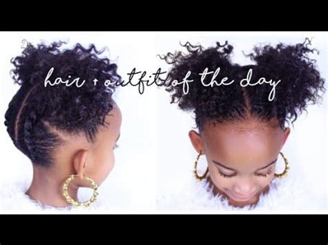 easy natural hairstyles ideas  pinterest