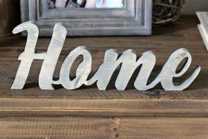 Rustic Home Sign - Pretty Handy Girl