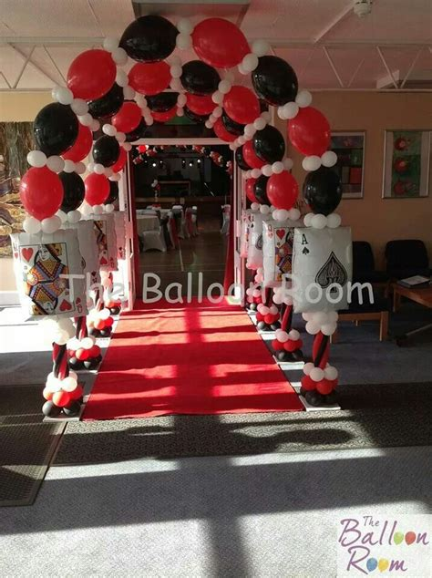 qlink balloons   casino party decorations