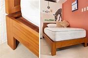 新A款6呎King Size雙人加大實木床架 WMBS24T1|最好的柚木家具-優渥實木