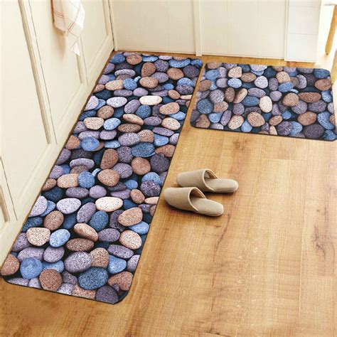 non slip kitchen floor mats 3d three dimensional kitchen floor mats waterproof 7117