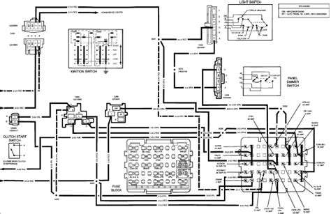 1992 Chevrolet Silverado Wiring Diagram by Need A Wiring Diagram For A 1992 Chevy 1500