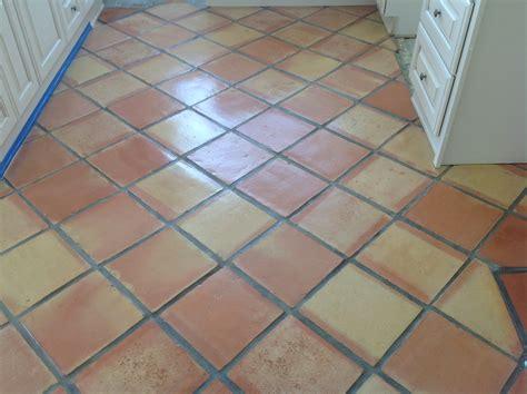 sealed saltillo tile saltillo clay floor pavers sealer specialist california tile restoration