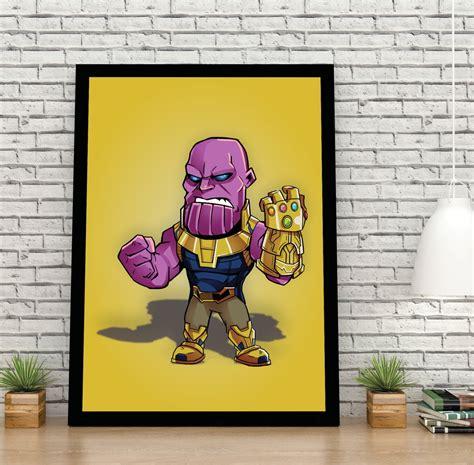 Thanos 30x40cm No Elo7 Criativa Decoração 120b778