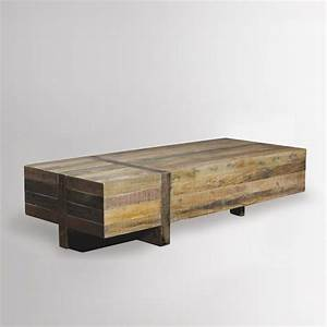 emmerson block coffee table west elm summer home or With emmerson reclaimed wood coffee table