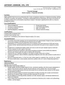 Auditing Experience Resume by Professional Financial Manager Senior Auditor Templates To