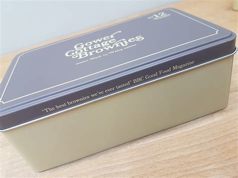 Gower Cottage Brownies by Gower Cottage Brownies In Presentation Tin Brownies Gifts