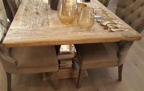 table co large farmhouse dining table with metal legs