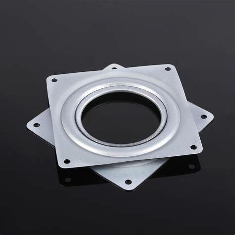 herwey  square rotating plate metal bearing turntable tv rack desk toolplate turntable