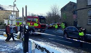 Two cars are sent plummeting into a stream after bridge ...