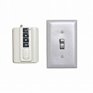 Led Dimmer W   Wireless Wall Mount Rf Remote