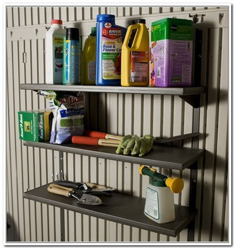 rubbermaid outdoor storage shed accessories storage shed organization ideas