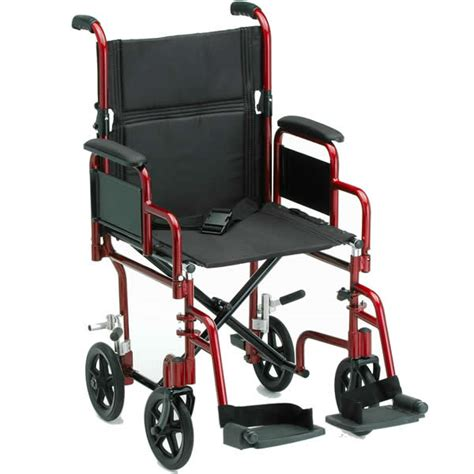 ortho med deluxe lightweight transport chair transport wheelchairs