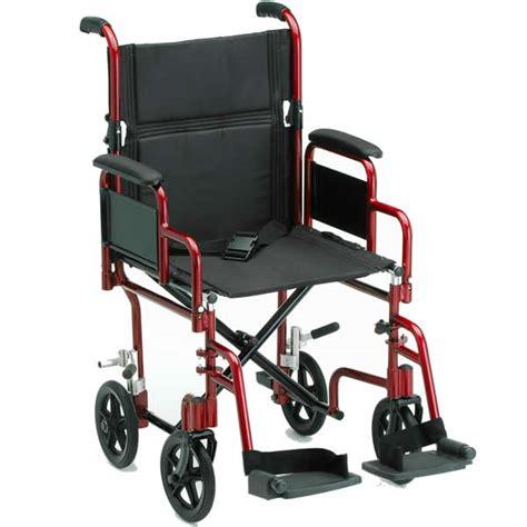 deluxe lightweight transport chair transport wheelchairs