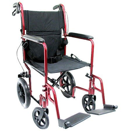 Ultra Light Transport Chair Walgreens by Karman 19 Inch Aluminum Lightweight Transport Chair With