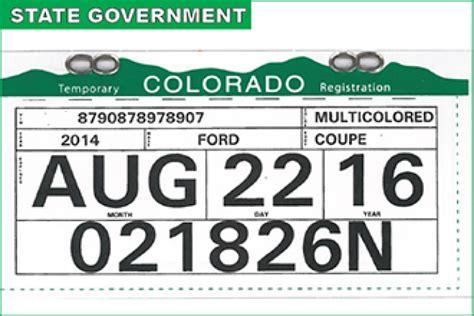 temporary tag template new temporary registration pilot program begins monday kiowa county press