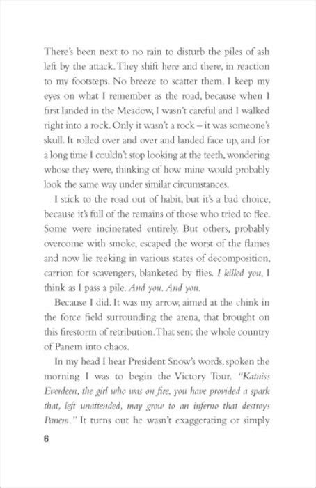 Hunger Games Book 1 Page