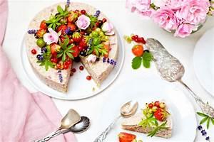 Torte Mit Erdbeeren : vollwertige milchreistorte mit erdbeeren holunderbl tensirup ~ Lizthompson.info Haus und Dekorationen