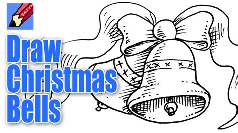 draw christmas bells real easy youtube