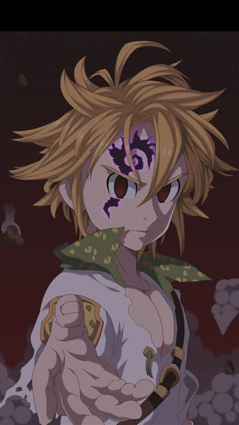 meliodas artwork angry wallpaper