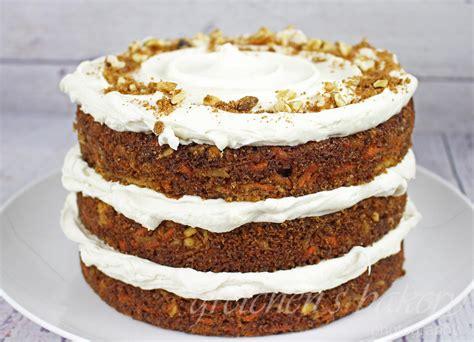 vegan carrot cake  gretchens vegan bakery