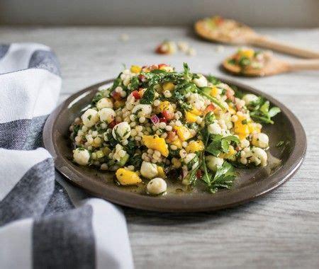 recette salade de couscous israelien de perles de
