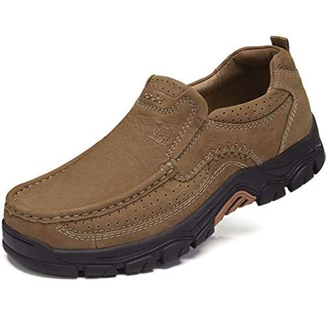 Camel Crown Mens Hiking Shoes For Outdoors Travelling Walking Work