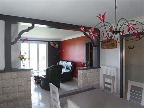 chambre avec salle de bain ouverte salon séjour peinture peinture frehel deco morbihan