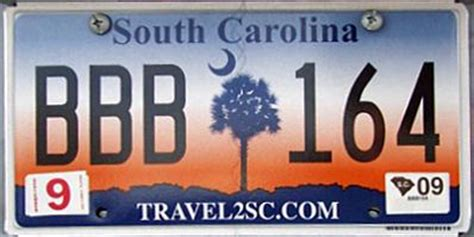 Vanity Plates Sc by South Carolina 2 Y2k