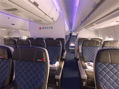Delta's New Cabin Is Adding A Touch Of Luxury To Economy