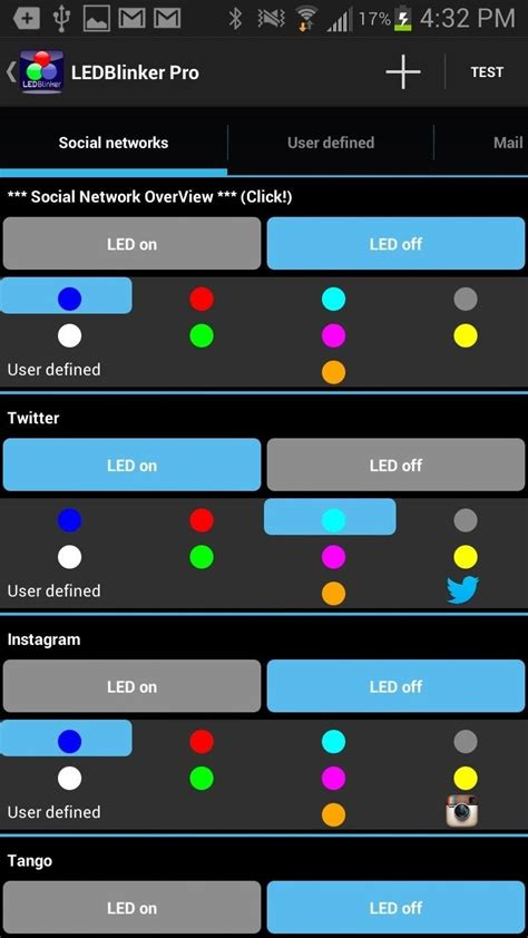 notification led light how to customize led alerts for specific notifications on