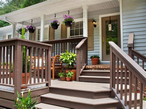 front patio ideas fabulous front yard decks and patios hgtv