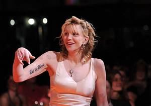 Courtney Love Tattoos | CelebritiesTattooed.com