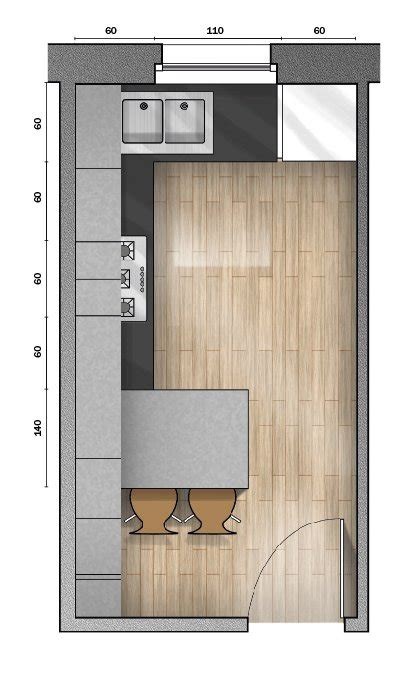 Awesome Cucina 10 Mq Pictures  Ideas & Design 2017