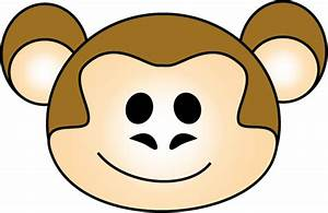 Monkey Face Clipart - Cliparts.co