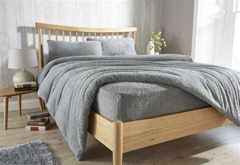 fleece fitted sheet teddy fleece fitted sheet cosy warm bed sheets 3769