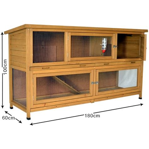 hutch company number the coach house 6ft large rabbit hutch