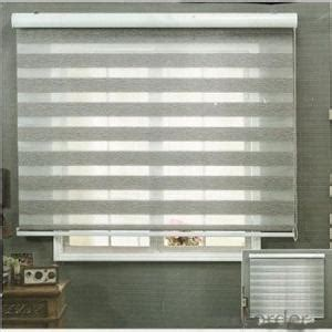 blackout sun shade curtain plastic chain pull double layer roller blinds exterior blinds