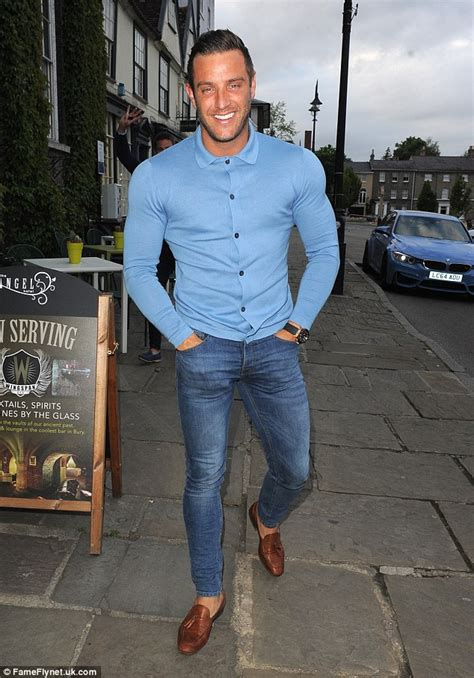 TOWIE's Elliott Wright flexes muscles Spain after Michelle Keegan's wedding   Daily Mail Online