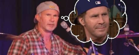 fan le grito  ferrell  chad smith de red hot chili