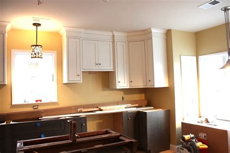 Kitchen Cabinet Cornice Details  Let's Face The Music