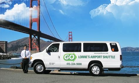 go lorrie s airport shuttle up to 18 san francisco