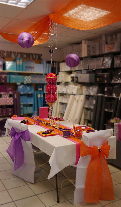 decoration de table bollywood deco coloree