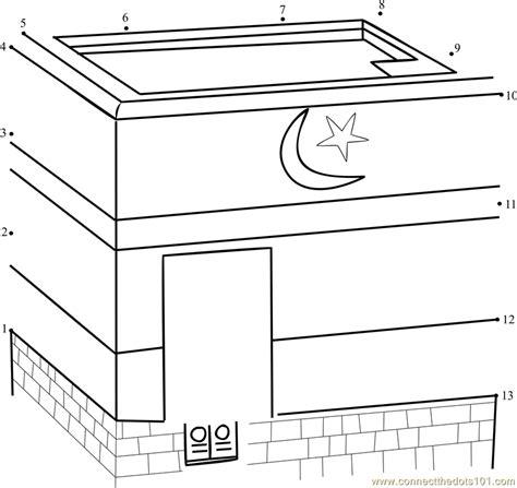 kaaba dot  dot printable worksheet connect  dots