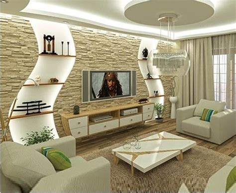 Gypsum Wall Designs For Living Room