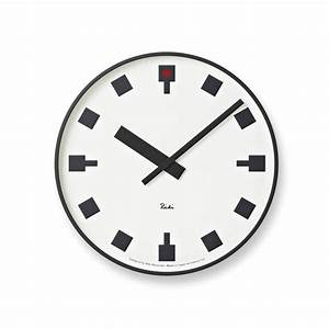 Japanese railway clock by riki watanabe modern wall