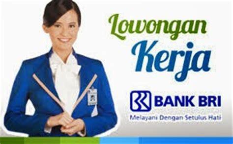 lowongan kerja bandung bank bri januari  home