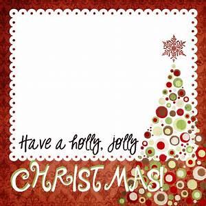 Ej Digital Scrapbooking Tutorials  Christmas Templates